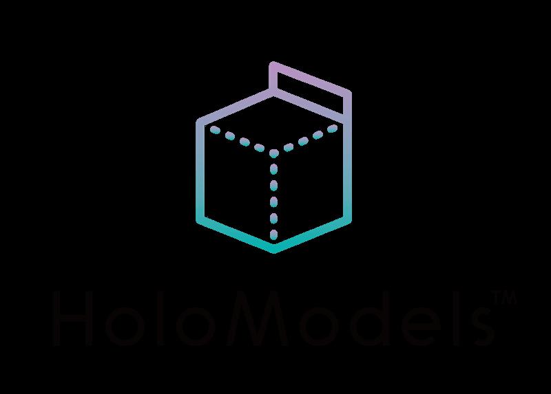 HoloModelsロゴ