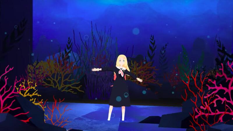 VRミュージカル「人魚姫」公演日
