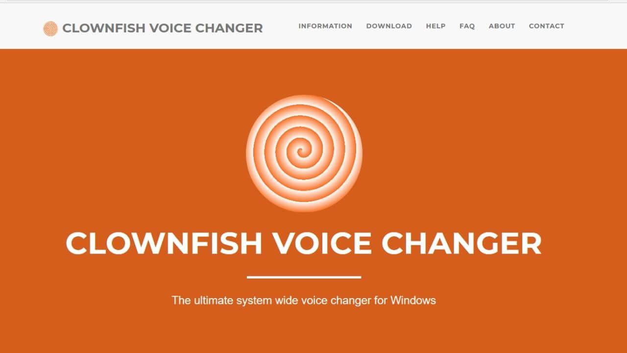 「Clownfish Voice Changer(クラウンフィッシュ ボイスチェンジャー)」とは?