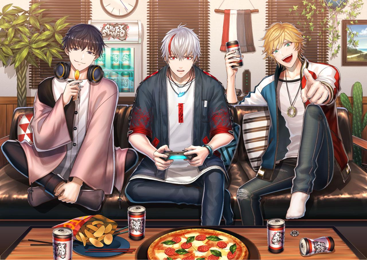 男性Vゲーマーグループ「Crazy Studio」所属メンバー3名が9月1日よりデビュー
